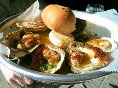 Acadiana - Garlic broiled oysters
