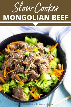 This slow cooker mongolian beef recipe is so easy to make. The beef comes out tender and juicy. Add this to your dinner menu idea #slowcooker #slowcookerrecipes #mongolianbeef #mongolianrecipe Slow Cooker Mongolian Beef Recipe, Mongolian Beef Recipes, Fish Stew, Dessert, Snacks, Dinner Menu, The Ranch, Sauce Recipes, Desserts
