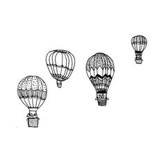 simple drawings doodles doodle sketches tattoo indie quotes backgrounds balloons polyvore drawing balloon effects easy cool dessin inspo fillers disegni