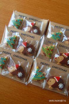 いまさらクリスマスのアイシングクッキーなんて遅すぎるけれど・・・気にせずにまずはハリネズミ君のクリスマス。メリークリスマスのメッセージカードとともに。
