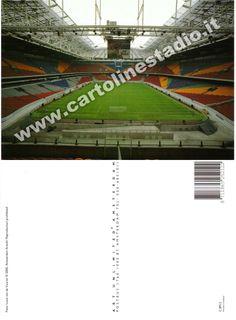 € 0,70 - code : NED-005 - AMSTERDAM ArenA - stadium postcard cartolina stadio carte stade estadio tarjeta postal