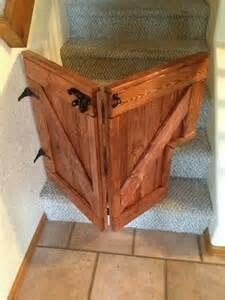 Our Custom Folding Barn Door Baby/Dog Gate is a stylish addition to any home and will keep your children and dogs safe while looking great. Barn Door Baby Gate, Diy Baby Gate, Baby Gates, Dog Gates, Barn Doors, Pet Gate, Sliding Doors, Wood Baby Gate, Baby Barn