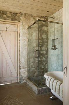 Stone Wall Bathroom-27-1 Kindesign
