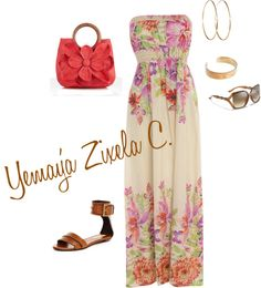 Lady Summer, created by mz-fashioneye on Polyvore