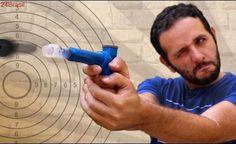 Pistola de seringa e isqueiro - superfácil!