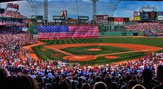 The Red Sox at Fenway Park, Boston