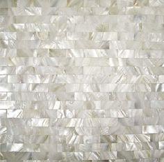 Accueil mosaïques de carreaux de métro blancs brique mère de tuiles perle…
