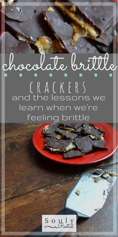 chocolate brittle crackers | dealing with grief | finding hope | spring snow | waiting on God's timing | when you are blindsided | when you feel brittle | homeschool | homestead | the simple life | SOULy rested in Christ | SoulyRested.com
