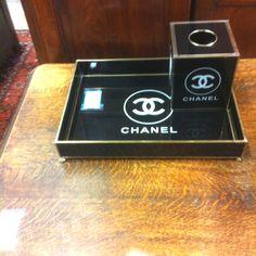 Chanel tray at Renaissance furniture