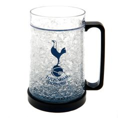 TOTTENHAM HOTSPUR Plastic Freezer Tankard featuring the cockerel club crest. Official Licensed Tottenham Hotspur freezer mug. FREE DELIVERY ON ALL OF OUR GIFTS