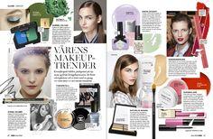 Stella. #magazine #layout #editorial #makeup