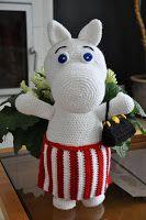Crochet Pattern, Knit Crochet, Eco Friendly Toys, Moomin, Slouchy Beanie, Crochet Animals, Elmo, Handmade Toys, Plushies