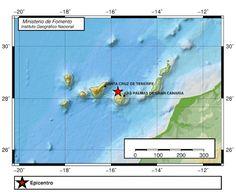 Hoy sábado, 14 de enero, se han registrado tres movimientos sísmicos en aguas del Atlántico Canaria...