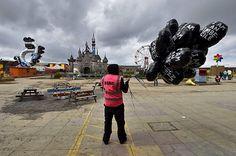 Anti-establishment art: Banksy's Dismaland, the Miserable Kingdom | The Economist