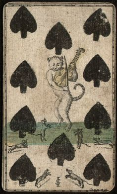 Playing card, 1700's