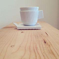 Just espresso in white. by Zuzana Holaňová