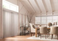 """Wood blinds offer a warm, natural look to their surroundings. Ranging in slat sizes from 1"""",2"""", and 2-1/2"""", wood blinds are offered in a variety of designer paint colors, rich stains, and finishes. Wood blinds add a touch of richness and elegance to any room in your home!"""