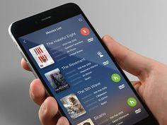 15 best movie ui images on pinterest mobile ui app ui design and