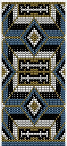 Created to help overcome ones daily sensitivity while creating the desire to relax and unwind( bead colors selected according to your wellness chart only) / Photo Excellente Loom Bracelet Patterns, Bead Loom Bracelets, Bead Loom Patterns, Perler Patterns, Beading Patterns, Cross Stitch Patterns, Mochila Crochet, Tapestry Crochet Patterns, Native Beadwork