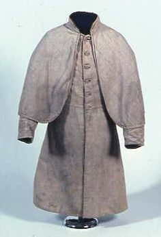 Confederate Greatcoat; Private James H. Curtis, Co. D, 23rd North Carolina Infantry. National Park Service Museum Collections
