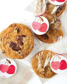 Chewy Chocolate Chunk-Cherry Cookies Recipe