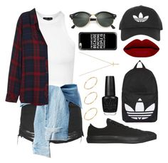 """Untitled #30"" by czarcasticllama ❤ liked on Polyvore featuring Topshop, Rails, Converse, Ray-Ban, Casetify, Gucci, ASOS and OPI"