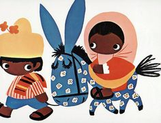 Mary Blair, early Disney concept and Advertising artist. Amazing style.