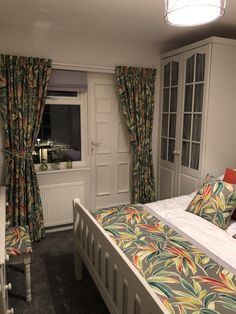made to measure curtains made for our clients beautiful homes for more info email amanda@amandabakersofturnishings.co.uk Pelmets, Made To Measure Curtains, Roman Blinds, Soft Furnishings, Beautiful Homes, Amanda, Cushions, Bed, Furniture
