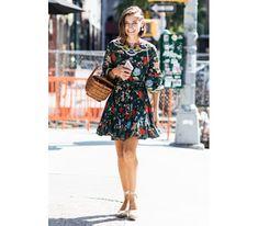ΥΓΕΙΑ ΚΑΙ ΟΜΟΡΦΙΑ: Street Style: Floral παντού!