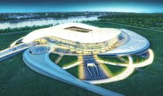 Populous Wins 2018 World Cup Stadium Design in Russia football