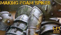 Making Foam Spikes and other cosplay crafting tips.