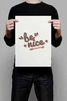 #Print #Digital #Download #Printable #Home #Decor #Poster #Typography #Inspirational #Quote #Art #Erhico #Design‬ #benice #nice