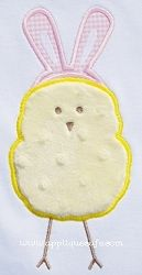 Easter Chick Applique - 3 Sizes! | Featured Products | Machine Embroidery Designs | SWAKembroidery.com