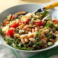 Food Articles, Recipe Articles, Kale, Spinach, Nicoise, Arugula Salad, White Beans, Tortellini, Potato Salad