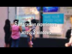 TRO and Telstra 2014 Interactive Christmas Windows