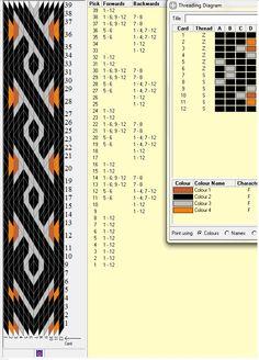 12 tarjetas, 4 colores, repite cada 8 movimientos // sed_174༺❁