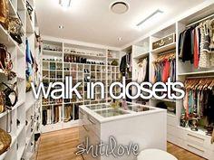 walk in closets shit-i-love