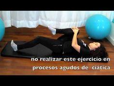 Ejercicios para dolor lumbar - YouTube