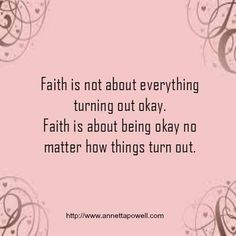 It's turns out like how it is now. I have no control over anything and surrendering to God's plan, like maybe He will change my heart , maybe He will change my situation, whatever it is I trust you God.