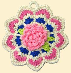 Delights-Gems: Crochet A-Long: Ripple Potholders