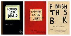 Per aquells amics més creatius i artistes. Els quaderns de Keri Smith són el regal perfecte si vols que deixin anar la seva imaginació. Disponibles en castellà i anglès, des de 9,95€ a Laie CaixaForum.