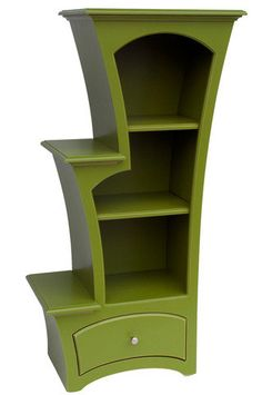 stepped bookcase  you choose the color by dustfurniture on Etsy, $1650.00
