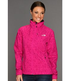 The North Face Women's Apex Bionic Jacket in the Fuschia Pink Trifecta Print    Adore the popped collar and the reviews are pretty awesome.