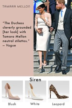 Meghan Markle is a fan of Tamara Mellon shoes Duke And Duchess, Duchess Of Cambridge, Harry And Megan Markle, Markle Prince Harry, Prince Harry And Megan, Meghan Markle Style, Lady Diana, Prince Charles, Royal Fashion