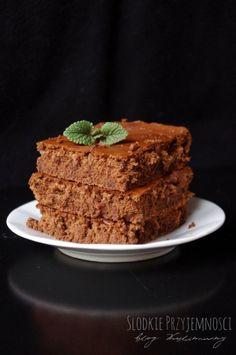Słodkie Przyjemności: Brownie z malinami bez glutenu i tłuszczu