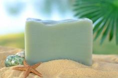 LOVE this soap! Coconut. Vanilla. Key Lime. It's almost edible. And all natural!