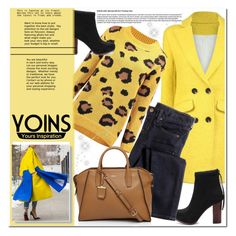 """""""Yellow"""" by nerma10 ❤ liked on Polyvore featuring J.Crew, DKNY, women's clothing, women's fashion, women, female, woman, misses, juniors and MustHave"""
