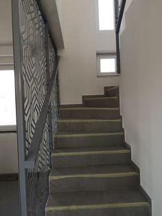 Metal Plus Design - Egyedi lézervágott panelek Verona, Stairs, Metal, Design, Home Decor, Luxury, Stairway, Decoration Home, Room Decor