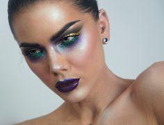 【ρinterest: ⚜ LizSanez✫☽】   //♡ Linda Hallberg Makeup - in a galaxy far, far away..