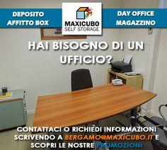 Maxicubo #SelfStorage Bergamo